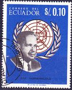 Ecuador - Persönlichkeiten (MiNr. 1251/5 Ohne 1254) 1966 - Gest. Used Obl. - Equateur