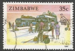 Zimbabwe. 1990 Definitives. 35c Used. SG 781 - Zimbabwe (1980-...)