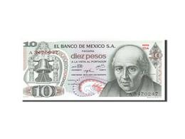 Mexique, 10 Pesos, 1969-1974, KM:63g, 1974-10-16, NEUF - Mexique