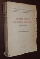 Historia Politica Del Imperio Almohade - Ambrosio Huici Miranda - Primera Parte - 1956 - Géographie & Voyages