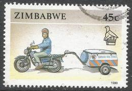 Zimbabwe. 1990 Definitives. 45c Used. SG 783 - Zimbabwe (1980-...)