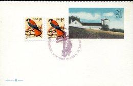 19159 U.s.a. Special Postmark 2002 Electricity Pole, - Elettricità