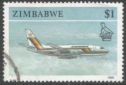 Zimbabwe. 1990 Definitives. $1 Used. SG 784 - Zimbabwe (1980-...)