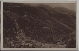 Chatelard Village, Vue Generale Et L'Usine Hydroelectrique C.F.F. - Photo: Perrochet-Matile No. 11412 - VS Wallis
