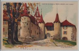 Chateau De Colombier - Ct. Neuchatel Gala Peter Chocolat Kohler - Litho - NE Neuchatel