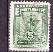 Ecuador - Hauptpostamt Von Guayaquil (MiNr. ZZM 49) 1943 - Gest. Used Obl.   !!lesen/read/lire!! - Equateur