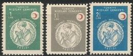 1958 TURKEY RED CRESCENT ISTANBUL FLORENCE NIGHTINGALE INSTITUTION MNH ** - 1921-... Republik