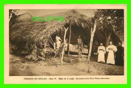 MISSIONS  DE CEYLAN SÉRIE VI - SANCTUAIRE D'UN ECCE HOMO MIRACULEUX - MISSIONNAIRES OBLATS DE MARIE-IMMACULÉE - - Missions