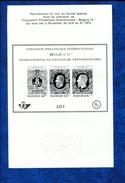 433386005 DB 1971 BELGIE  POSTFRIS MINT NEVER HINGED POSTFRISCH EINWANDFREI OCB ZNP3 BELGICA 72 BL48 - Zwarte/witte Blaadjes