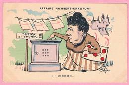 (TTA6) - AFFAIRE HUMBERT-CRAWFORD - Ils Sont Là !!! - Satirisch