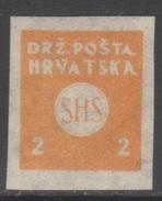 YOUGOSLAVIE 1919 1 TP Pour Journaux N° 2 Y&T Neuf * - Zeitungsmarken