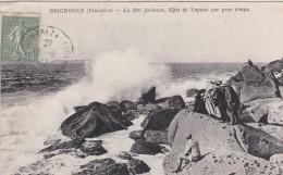 23E - 29 - Brignogan - Finistère - La Mer Furieuse, Effet De Vagues Par Gros Temps - Brignogan-Plage