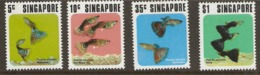 Singapore 1974 SG 228-32 Tropical Fish Unmounted Mint - Singapore (1959-...)