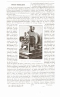 MOTEURS HYDRAULIQUES 1892 - Ciencia & Tecnología