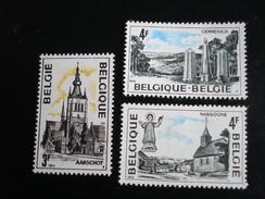 Belgique - Année 1974 - Série Touristique - Y.T. 1729/1731 - Neufs (**) Mint (MNH) Postfrisch (**) - België