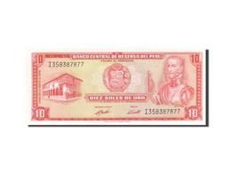 Pérou, 10 Soles De Oro, 1969, KM:100c, 1973-05-24, NEUF - Pérou