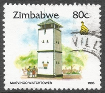 Zimbabwe. 1995 Zimbabwe Culture. 80c Used. SG 899 - Zimbabwe (1980-...)