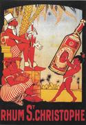 RHUM ST CHRISTOPHE - Werbepostkarten