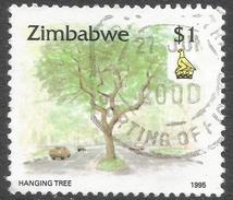 Zimbabwe. 1995 Zimbabwe Culture. $1 Used. SG 900 - Zimbabwe (1980-...)