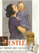 NESTLE - Werbepostkarten
