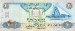 EMIRATES ARABES UNIS   20 Dirhams   2000   P. 21b - Emirats Arabes Unis