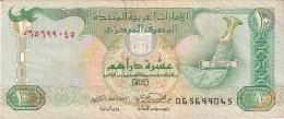 EMIRATES ARABES UNIS   10 Dirhams   1998   P. 20a - Emirats Arabes Unis