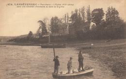 LANDEVENNEC (29)  PORT MARIA - L'EGLISE (barques) - EDIT LE DOARE - Landévennec