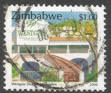 Zimbabwe. 2000 Fauna, Industry And Development. $1 Used. SG 1010 - Zimbabwe (1980-...)