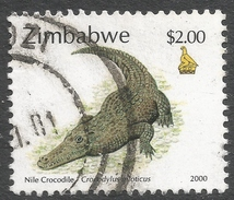 Zimbabwe. 2000 Fauna, Industry And Development. $2 Used. SG 1011 - Zimbabwe (1980-...)