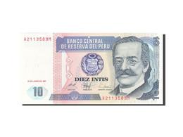 Pérou, 10 Intis, 1985-1991, KM:129, 1987-06-26, SPL - Perú