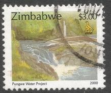 Zimbabwe. 2000 Fauna, Industry And Development. $3 Used. SG 1012 - Zimbabwe (1980-...)