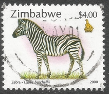 Zimbabwe. 2000 Fauna, Industry And Development. $4 Used. SG 1013 - Zimbabwe (1980-...)