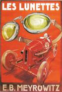 E B MEYROWITZ   Les Lunettes - Werbepostkarten