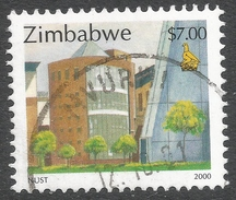 Zimbabwe. 2000 Fauna, Industry And Development. $7 Used. SG 1015 - Zimbabwe (1980-...)