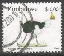 Zimbabwe. 2000 Fauna, Industry And Development. $10 Used. SG 1016 - Zimbabwe (1980-...)