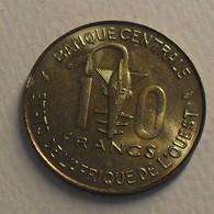 1982 - Afrique De L'Ouest - West African States - 10 FRANCS BCEAO, F.A.O., KM 10 - Monnaies