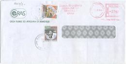 1994 CASTELLI L. 100+1000 INTEGRAZIONE AFFRANCATURA MECCANICA L. 750 X 2° BUSTA OTTIMA QUALITA' (8062) - 6. 1946-.. Repubblica