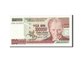Turquie, 100,000 Lira, 1997, KM:206, NEUF - Türkei