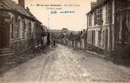 80 Bray Sur Somme. Rue De Corbie - Bray Sur Somme