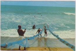 AFRIQUE DE L´OUEST,AFRICA ,TOGO, Prés BENIN,DAHOMEY,METIER DE LA PECHE,PECHEUR - Togo