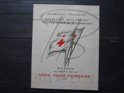 BEAU CARNET CROIX ROUGE DE FRANCE , N° 2004 (1955) , XX !!! - Carnets
