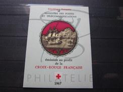 BEAU CARNET CROIX ROUGE DE FRANCE , N° 2016 (1967) , XX !!! - Carnets