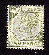 Natal, Scott #74, Mint Hinged, Queen Victoria, Issued 1887 - Zuid-Afrika (...-1961)
