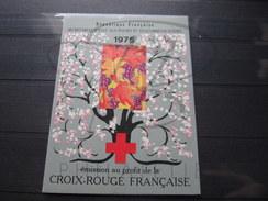 BEAU CARNET CROIX ROUGE DE FRANCE , N° 2024 (1975) , XX !!! - Carnets