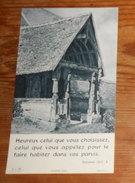 Image Pieuse. 1955. - Images Religieuses