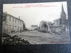 CPA - ANTHELUPT (54) - Maison D'école Après Le Bombardement - Août 1914 - Francia