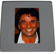Peter Falk Colombo (une Avec Michel Drucker ) Série De 10 Diapos - Diapositive Slide 5X5 Cm Photo SYGMA - Belle Qualité - Diapositives