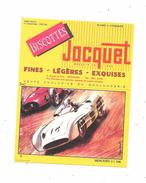 Buvard Biscottes Jocquet : Visuel Automobile, MERCEDES 2L500 - Biscotti