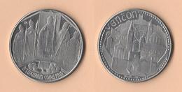 Friuli Terremoto Gettone Da 100 Lire Vencon - Monetary/Of Necessity