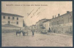 Lombardia ROVATO Imbocco Di Via Larga Dalla Stazionne Ferroviaria - Italia